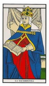 2 la sacerdotisa