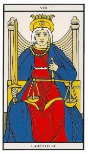 8 la justicia