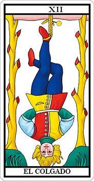 EL COLGADO - XII - Arcanos Mayores del Tarot