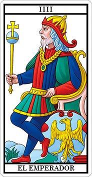 EL EMPERADOR - IV - Arcanos Mayores del Tarot