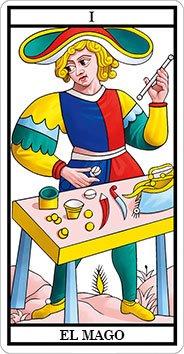 EL MAGO - I - Arcanos Mayores del Tarot