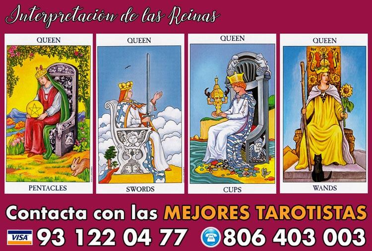 Significado de las Reinas en tarot - curso de tarot