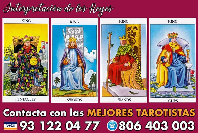 Significado de los Reyes en tarot - curso de tarot