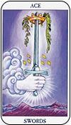 as de espadas 02- arcanos menores del tarot - curso de tarot