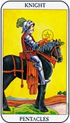 caballo de oros - los arcanos menores del tarot - curso de tarot