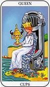 reina de copas - reinas de los arcanos menores del tarot - curso de tarot