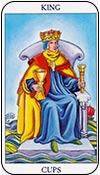 rey de copas - reyes de los arcanos menores del tarot - curso de tarot