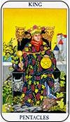 rey de oros - los arcanos menores del tarot - curso de tarot