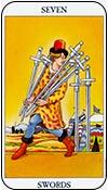 siete de espadas - los arcanos menores del tarot - curso de tarot