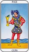 sota de copas - sotas de los arcanos menores del tarot - curso de tarot