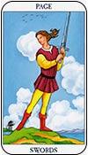 sota de espadas - los arcanos menores del tarot - curso de tarot
