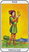 sota de oros - los arcanos menores del tarot - curso de tarot